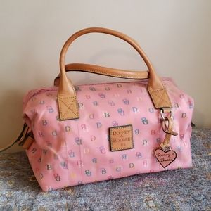 Dooney and Bourke X large duffel purse vintage